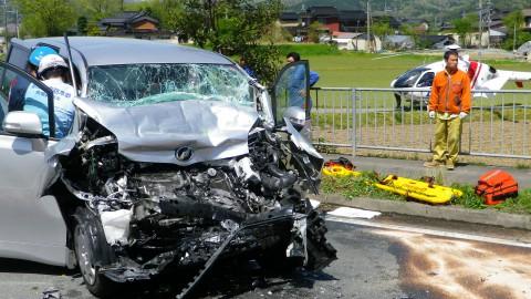 交通事故が多発しています。